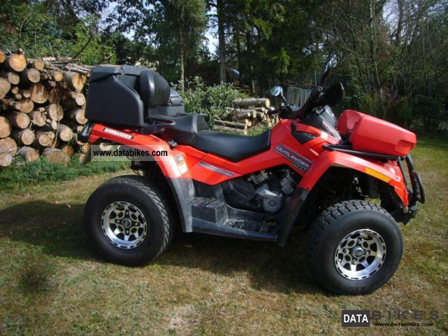 2008 Can Am  OUTLANDER MAX 800 E Motorcycle Quad photo
