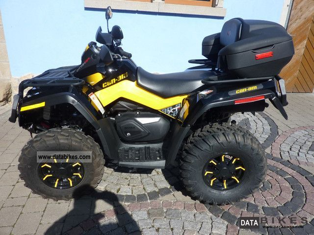 2012 Can Am  Outlander 800 XT-P Motorcycle Quad photo