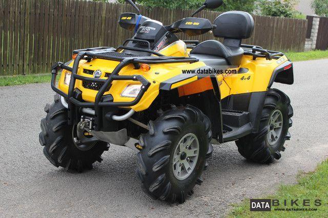 Can Am  Quatlander Max 800 XT 2008 Quad photo