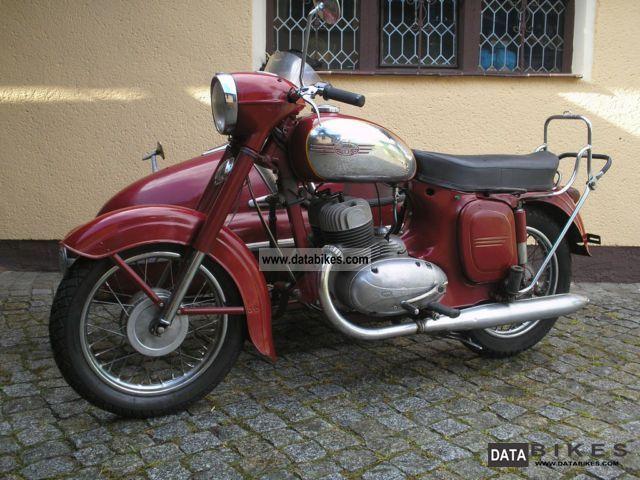 1962 Jawa  350 team Motorcycle Combination/Sidecar photo