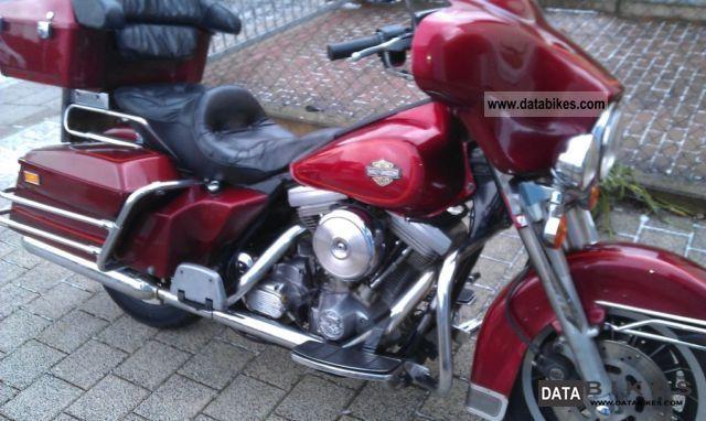 1986 Harley Davidson  Electraglide Motorcycle Motorcycle photo