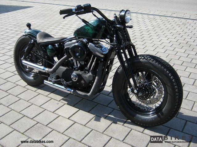 2001 Harley Davidson  Sportster Bobber Motorcycle Chopper/Cruiser photo