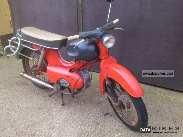 1962 Kreidler  Foil LF Motorcycle Motor-assisted Bicycle/Small Moped photo