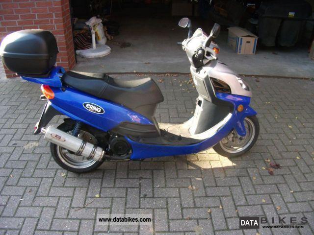 Baotian  BT125-7 Big Panther 2008 Scooter photo