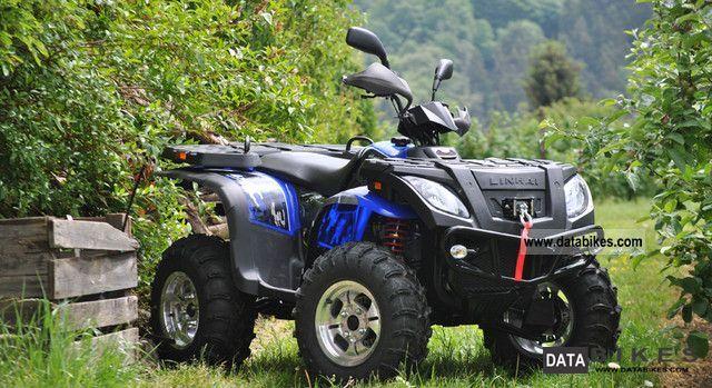 2012 Linhai  + + + Carrier LOF 420 4x4 ** NEW ** Blue Motorcycle Quad photo