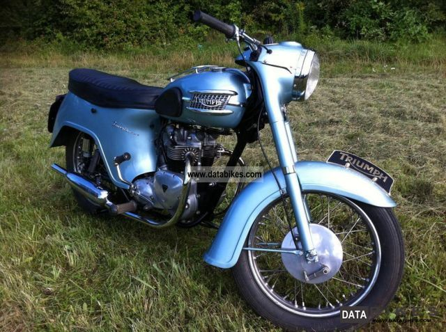 Triumph  TR 21 Bathub 1958 Vintage, Classic and Old Bikes photo