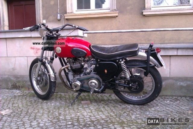 BSA  TriA7 1960 Vintage, Classic and Old Bikes photo