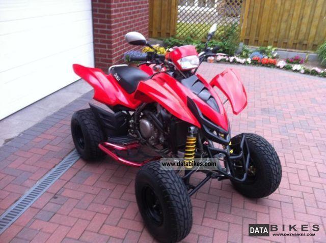2007 Dinli  DMX 450cc engine new!! Motorcycle Quad photo
