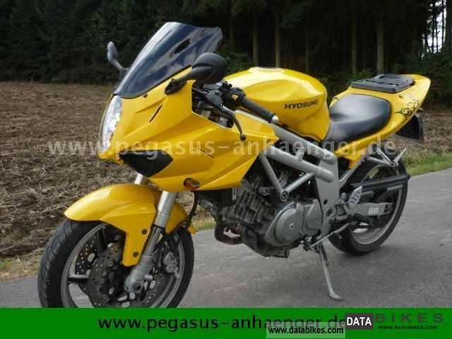 Hyosung  GT350, motorcycle 2006 Motorcycle photo
