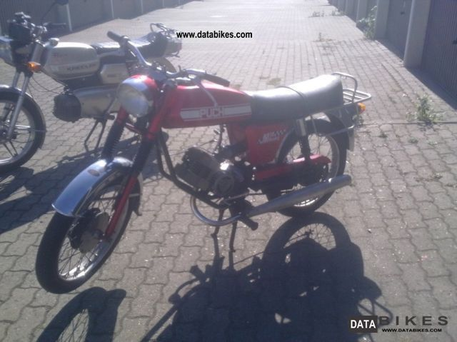 1973 Puch  M50 Racing Motorcycle Motor-assisted Bicycle/Small Moped photo
