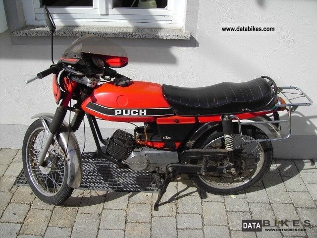 Puch  Monza 4s 1979 Vintage, Classic and Old Bikes photo