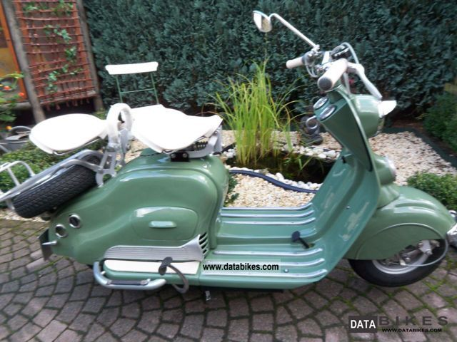 NSU  Lambretta 125cc 1952 Vintage, Classic and Old Bikes photo