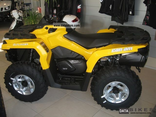 2012 Can Am  Outlander 500 DPS Mod 2013 Motorcycle Motorcycle photo