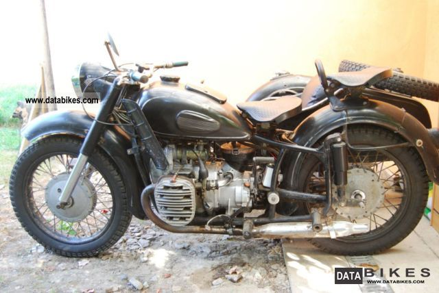 Ural  Dnepr K 750 M 1966 Vintage, Classic and Old Bikes photo