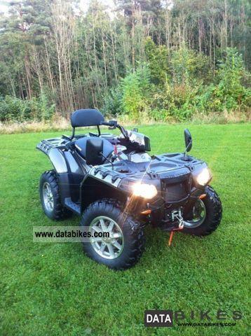 Polaris  Sportman 850 Forest 2012 Quad photo