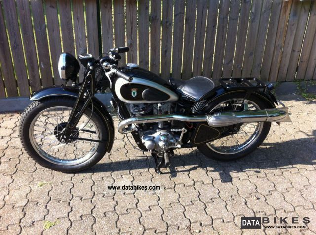 DKW  SB 350GS 1936 Vintage, Classic and Old Bikes photo