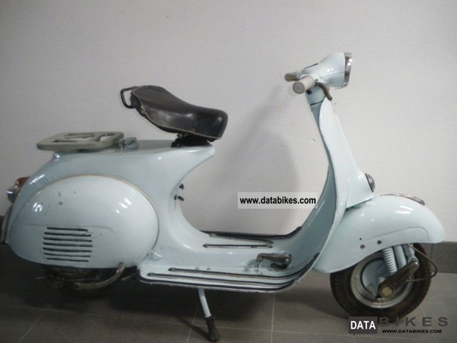 Vespa  125 VNB2T 1961 Vintage, Classic and Old Bikes photo