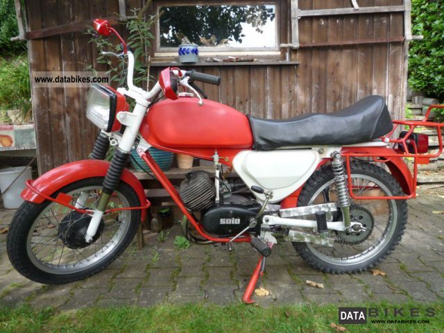 Other  Solo MK 40 + papers! Moped moped 1979 Vintage, Classic and Old Bikes photo