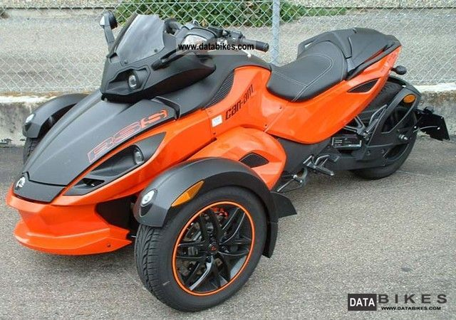 2012 Bombardier  Spyder RS-S SM5 Motorcycle Trike photo
