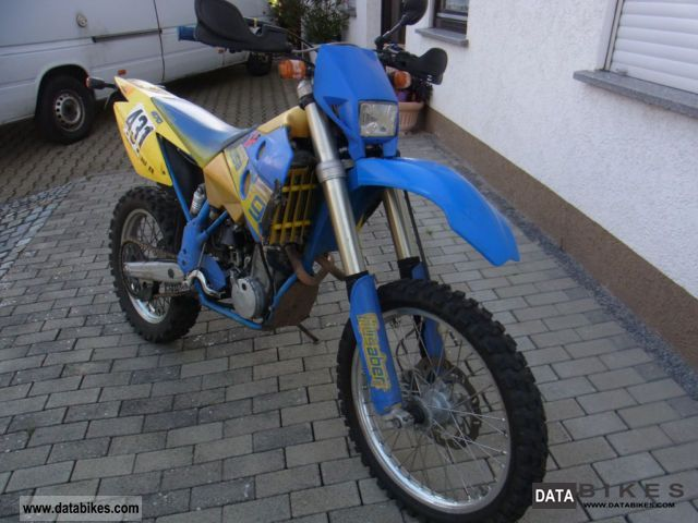 2002 Husaberg  FE 400 Motorcycle Enduro/Touring Enduro photo