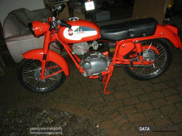 Gilera  Giubileo 98 1961 Vintage, Classic and Old Bikes photo