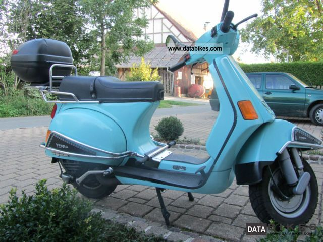 1988 piaggio vespa cosa 200. Black Bedroom Furniture Sets. Home Design Ideas