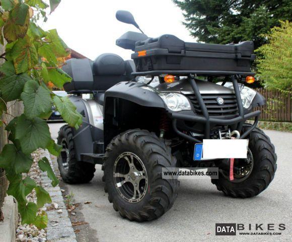 2011 CFMOTO  Explorer Grison 625 4x4, LOF, hitch, winch Motorcycle Quad photo