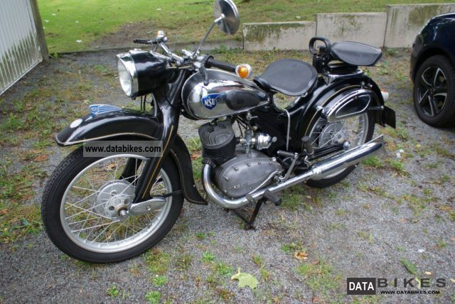 NSU  201 For example, 1952 Vintage, Classic and Old Bikes photo