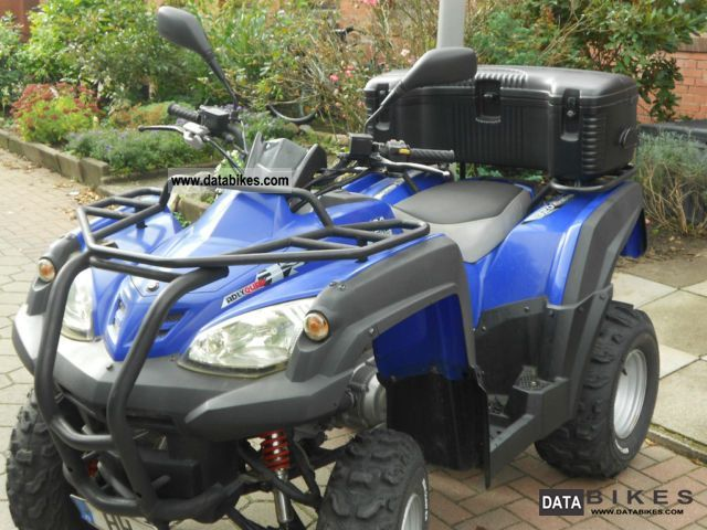 2008 Hercules  Quad ATV-320 Motorcycle Quad photo