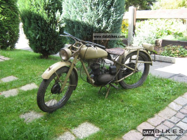 DKW  RT 125n.A Wehrmacht 1943 Vintage, Classic and Old Bikes photo