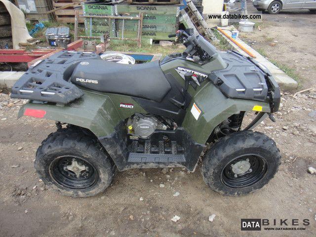 quad polaris 350