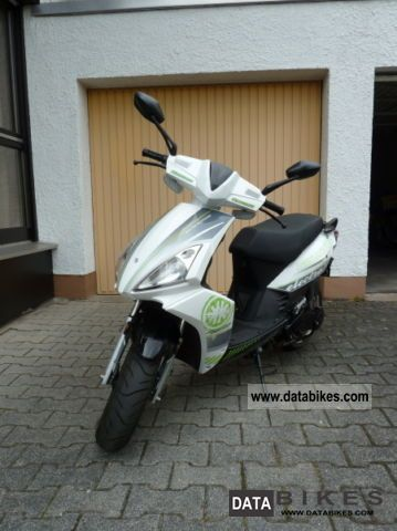 Kreidler  Galactica 2.0 Electro, only 2005 km, excellent condition 2011 Electric Motorcycles photo