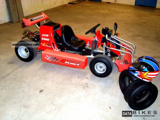 2006 Kreidler  KART F-100 SMC ROAD WITH ADMISSION 1800km Motorcycle Quad photo
