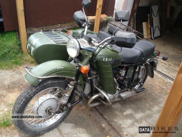 2001 Ural  650 Motorcycle Combination/Sidecar photo
