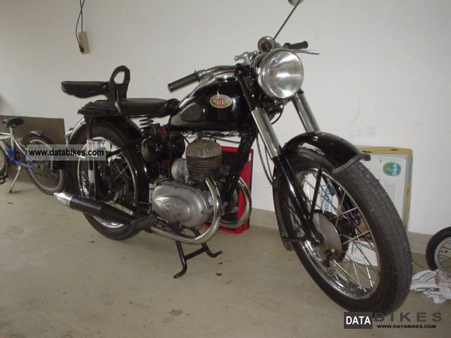 1953 Zundapp  Zundapp DB200 Comfort Motorcycle Motorcycle photo
