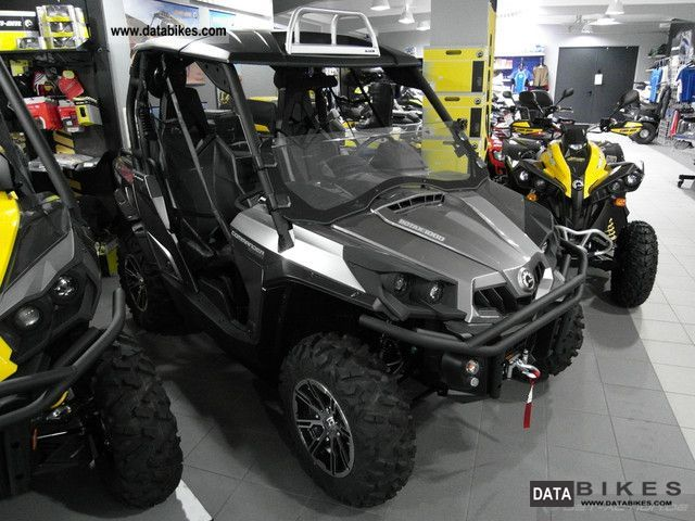 2012 BRP  Can Am Commander 1000 LTD 3 years warranty Motorcycle Quad photo