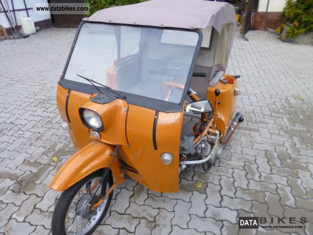 1982 Simson  Duo Motorcycle Motor-assisted Bicycle/Small Moped photo