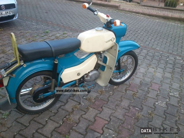 Simson  Sperber sr4-3 1969 Vintage, Classic and Old Bikes photo