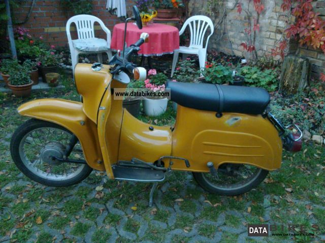 1985 Simson  KR51 Motorcycle Motor-assisted Bicycle/Small Moped photo