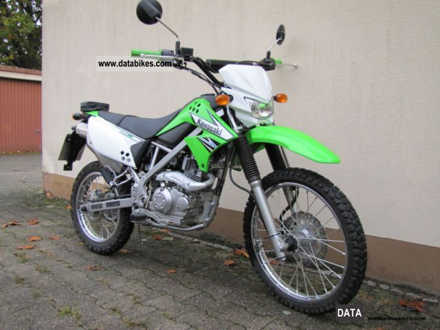 2012 Kawasaki KLX 125 Motorcycle
