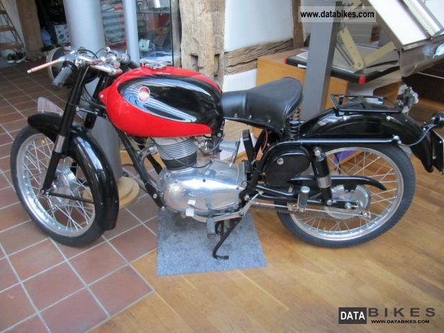 Gilera  150 sport 1958 Vintage, Classic and Old Bikes photo