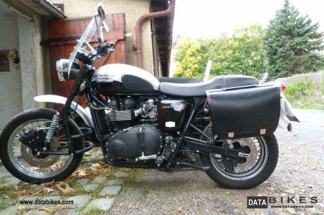 2009 Triumph  Scrambler Motorcycle Combination/Sidecar photo