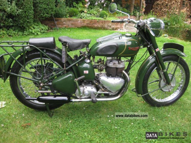 Triumph  TRW 500 1950 Vintage, Classic and Old Bikes photo