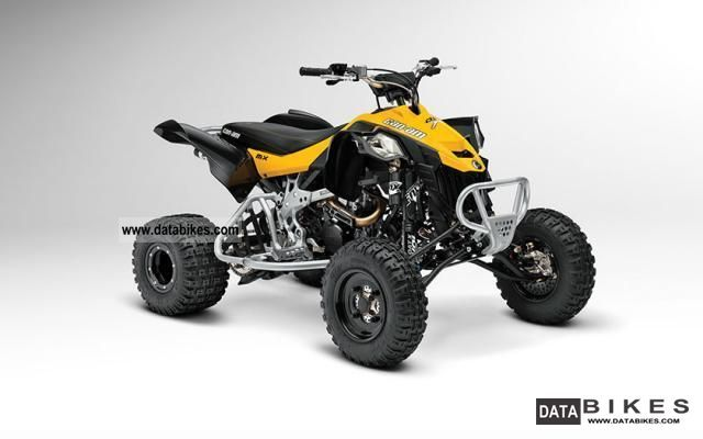 Can Am  DS 450 MX 2013 model Ready to Race 2012 Quad photo