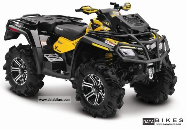 2012 Can Am  Outlander 800 MAX Xmr Motorcycle Quad photo