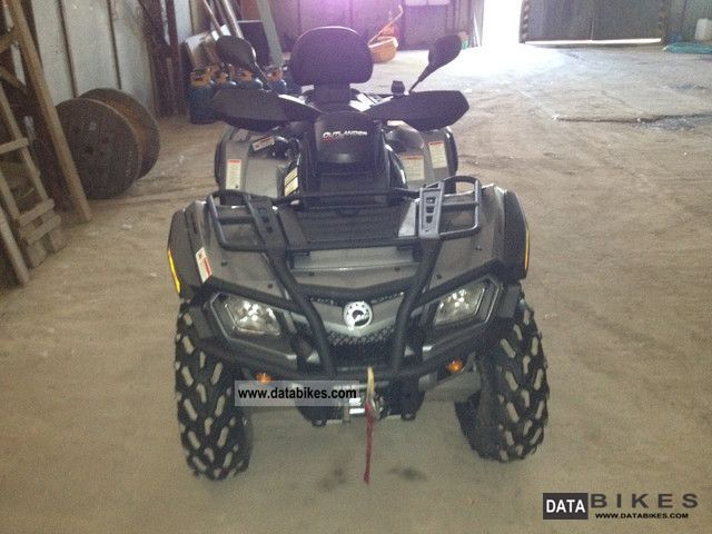 2012 Can Am  OUTLANDER MAX 800XT-P Motorcycle Quad photo