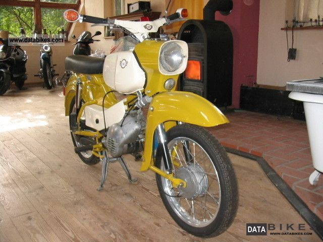 Simson  Hawk 1973 Vintage, Classic and Old Bikes photo