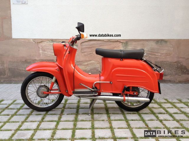 Simson  KR 51 Swallow 1965 Vintage, Classic and Old Bikes photo