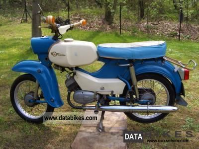 Simson  Sperber original SR 4-3 1968 Vintage, Classic and Old Bikes photo