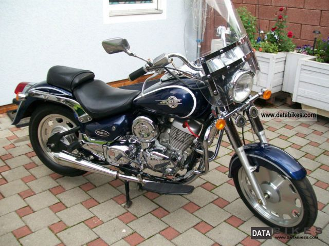 2008 SYM  DAELIM VL 125 Motorcycle Chopper/Cruiser photo